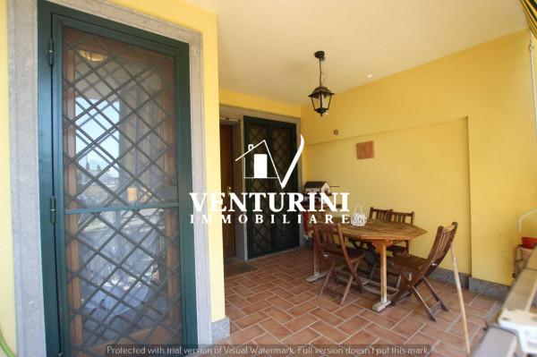 Villetta a schiera in vendita a Roma, Valle Muricana, Con giardino, 120 mq - Foto 7