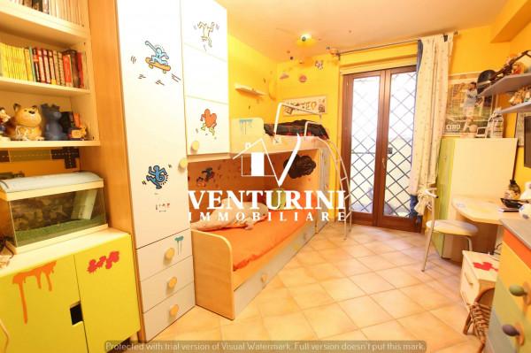 Villetta a schiera in vendita a Roma, Valle Muricana, Con giardino, 120 mq - Foto 12