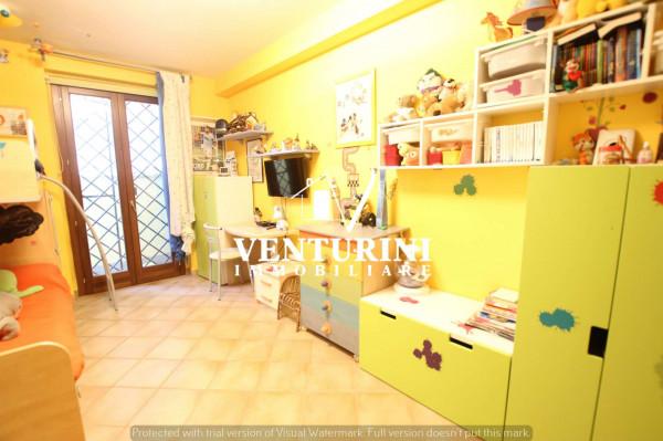 Villetta a schiera in vendita a Roma, Valle Muricana, Con giardino, 120 mq - Foto 13