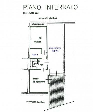 Villetta a schiera in vendita a Alpignano, Colgiansesco, Con giardino, 200 mq - Foto 2
