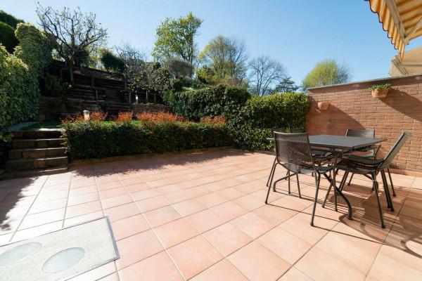 Villetta a schiera in vendita a Alpignano, Colgiansesco, Con giardino, 200 mq - Foto 22