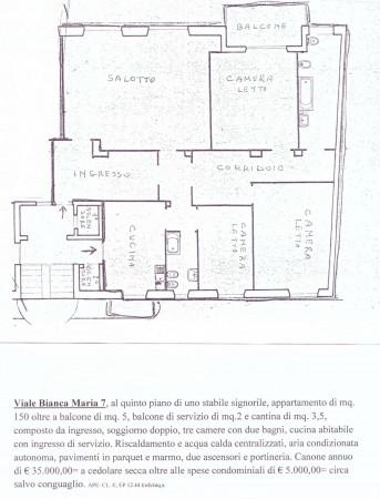 Appartamento in affitto a Milano, C.so P.ta Vittoria, 150 mq - Foto 2