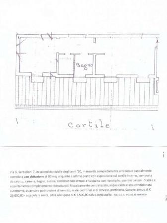 Appartamento in affitto a Milano, Palestro, Arredato, con giardino, 80 mq - Foto 2