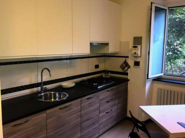 Appartamento in vendita a Genova, Nervi, Arredato, con giardino, 65 mq - Foto 14
