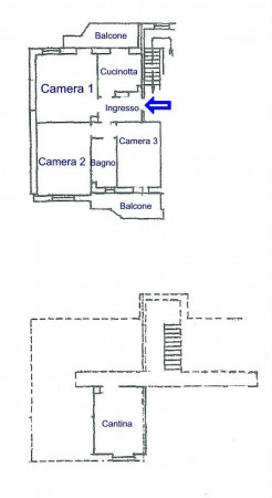 Appartamento in vendita a Alpignano, Centro, 82 mq - Foto 2