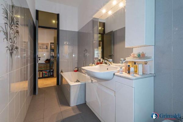 Appartamento in vendita a Milano, Bande Nere, Con giardino, 115 mq - Foto 17