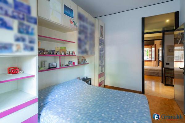 Appartamento in vendita a Milano, Bande Nere, Con giardino, 115 mq - Foto 22