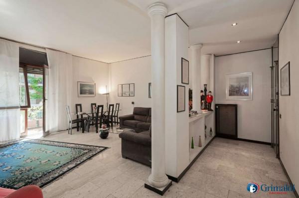 Appartamento in vendita a Milano, Bande Nere, Con giardino, 115 mq - Foto 30