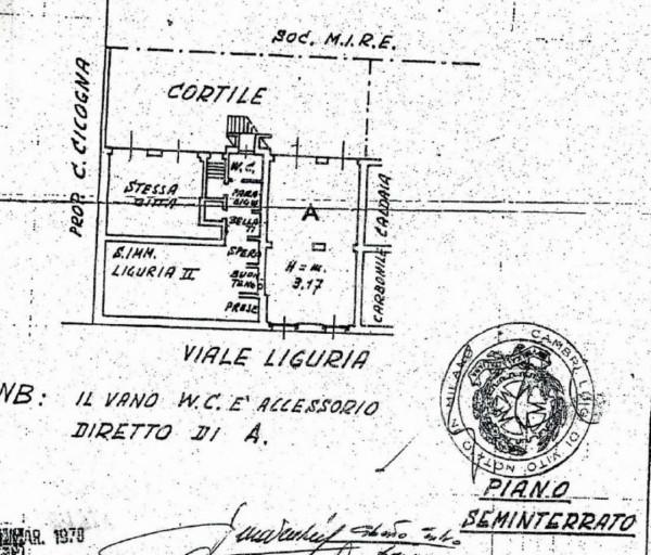 Locale Commerciale  in vendita a Milano, Romolo, 70 mq - Foto 2