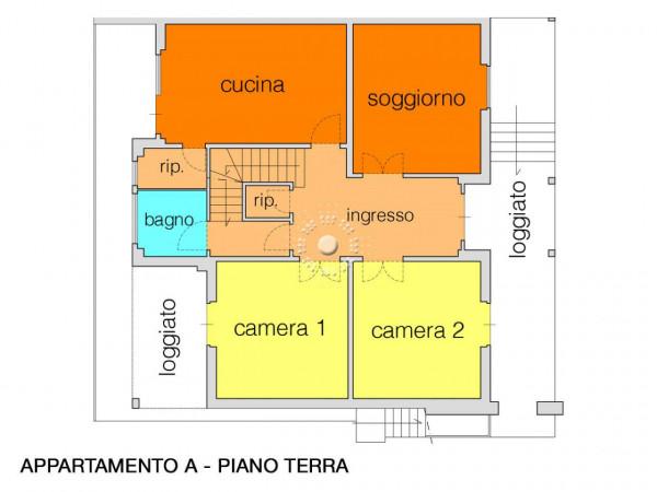Appartamento in vendita a Vaglia, Con giardino, 195 mq - Foto 4