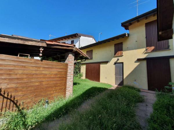 Casa indipendente in vendita a Borghetto Lodigiano, Residenziale, Con giardino, 130 mq - Foto 23