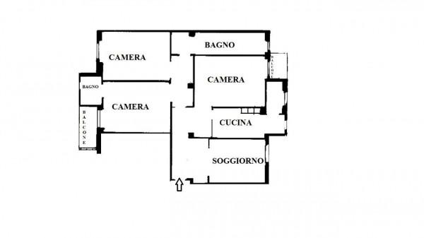 Appartamento in vendita a Milano, Piazza Napoli, 130 mq - Foto 5