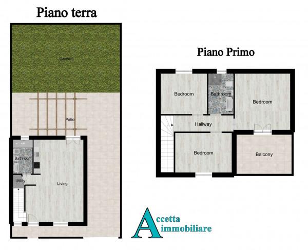Villa in vendita a Taranto, San Vito, Con giardino, 118 mq - Foto 2