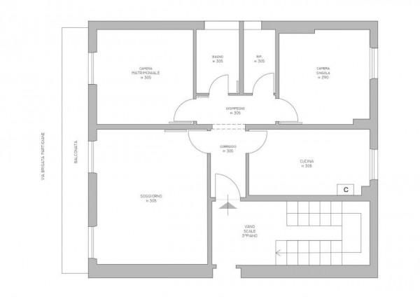 Appartamento in vendita a Lavagna, Cavi Borgo, 80 mq - Foto 3
