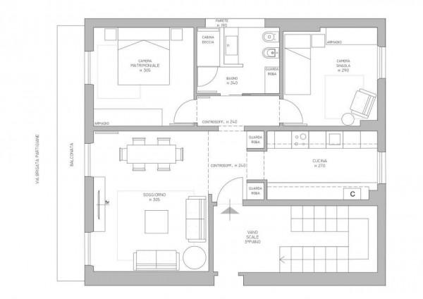 Appartamento in vendita a Lavagna, Cavi Borgo, 80 mq - Foto 2
