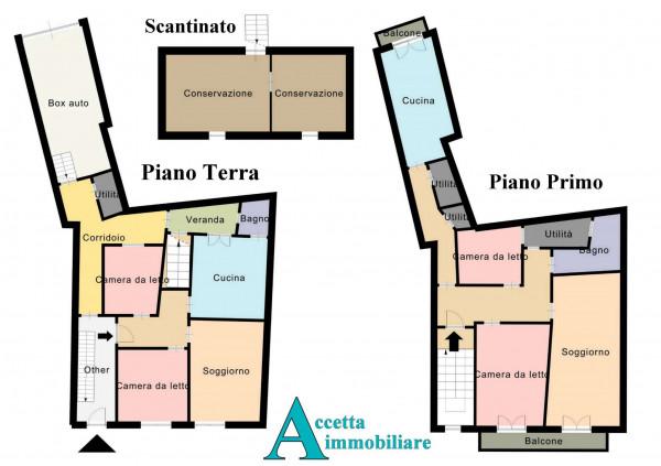 Casa indipendente in vendita a Faggiano, 240 mq - Foto 2