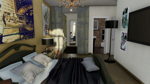 Appartamento in vendita a Rapallo, S.maria, Con giardino, 80 mq - Foto 4