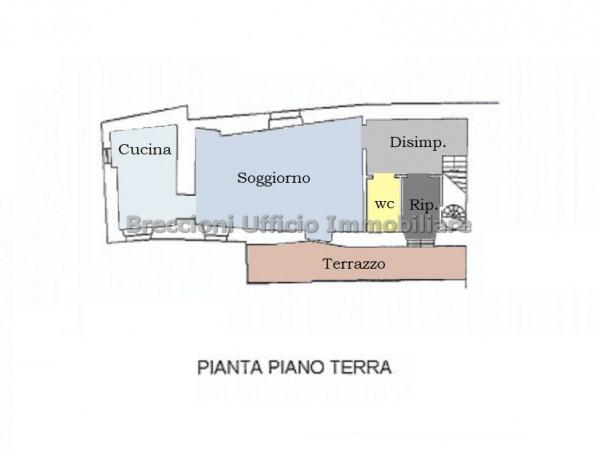 Casa indipendente in vendita a Trevi, Piaggia, 170 mq - Foto 21