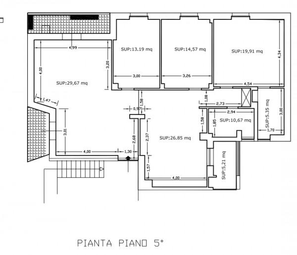 Appartamento in affitto a Lecce, Mazzini - San Lazzaro, 160 mq - Foto 17