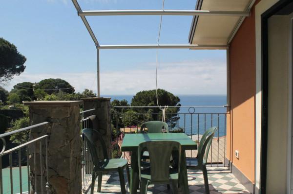 Appartamento in vendita a Bonassola, Fornello, Arredato, con giardino, 55 mq - Foto 1