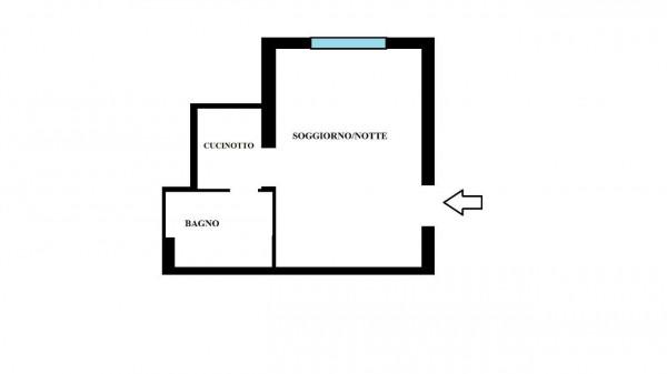 Appartamento in vendita a Milano, Piazzale Baracca, Arredato, 40 mq - Foto 3