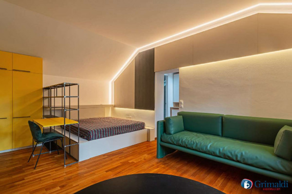 Appartamento in vendita a Milano, Piazzale Baracca, Arredato, 40 mq