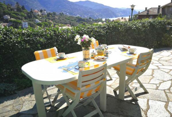 Villetta a schiera in vendita a Rapallo, San Michele Di Pagana, Con giardino, 90 mq