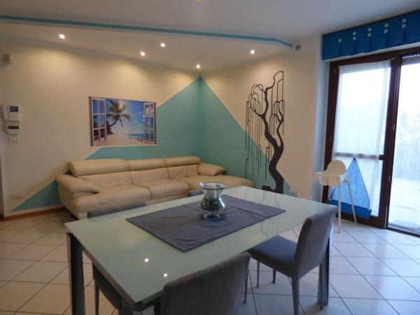 Appartamento in vendita a Borgaro Torinese, Arredato, con giardino, 72 mq - Foto 16