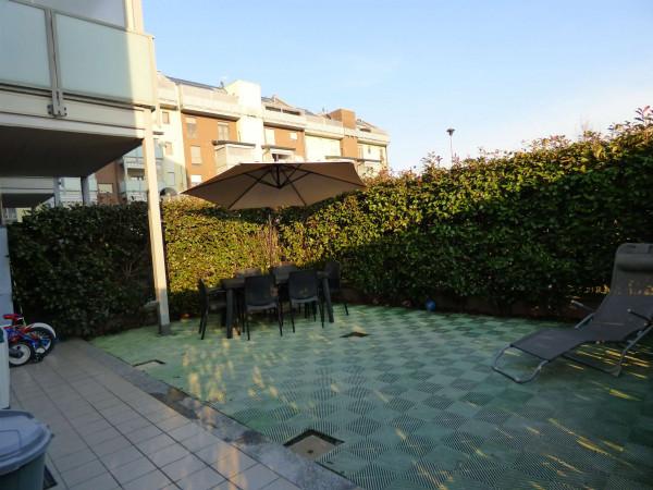 Appartamento in vendita a Borgaro Torinese, Arredato, con giardino, 72 mq - Foto 8