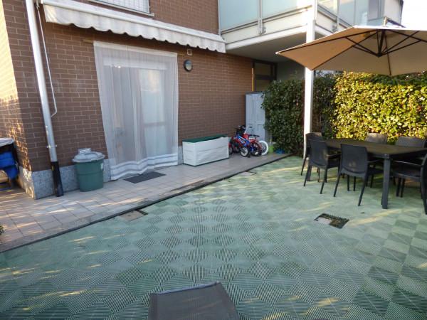 Appartamento in vendita a Borgaro Torinese, Arredato, con giardino, 72 mq - Foto 7
