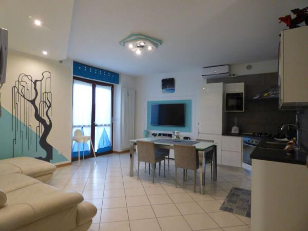Appartamento in vendita a Borgaro Torinese, Arredato, con giardino, 72 mq - Foto 1