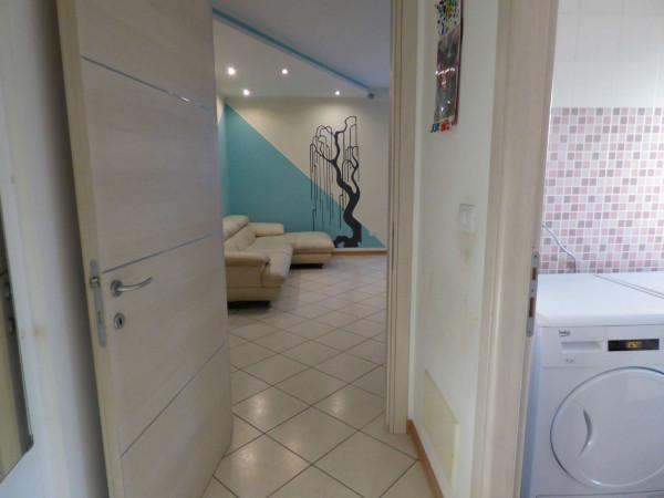 Appartamento in vendita a Borgaro Torinese, Arredato, con giardino, 72 mq - Foto 14