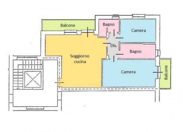 Appartamento in vendita a Boffalora d'Adda, Residenziale, Con giardino, 100 mq - Foto 2