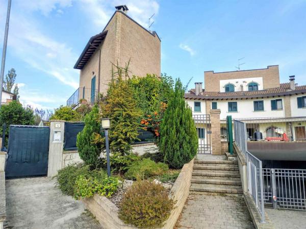 Villetta a schiera in vendita a Città di Castello, Con giardino, 95 mq