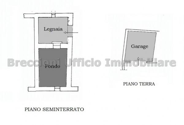 Casa indipendente in vendita a Trevi, Bovara, Con giardino, 90 mq - Foto 19