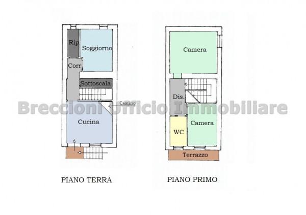 Casa indipendente in vendita a Trevi, Bovara, Con giardino, 90 mq - Foto 18