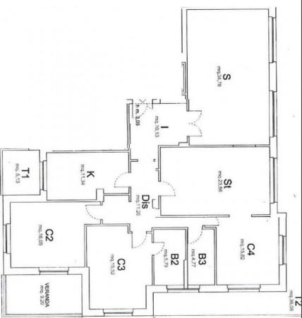 Appartamento in affitto a Roma, Cassia San Godenzo, 150 mq - Foto 7