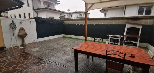 Villetta a schiera in vendita a Cremosano, Residenziale, Con giardino, 165 mq - Foto 4