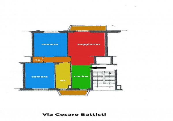 Appartamento in vendita a Sesto San Giovanni, Rondò, 95 mq - Foto 2