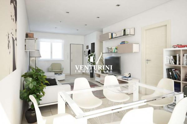 Appartamento in vendita a Roma, Valle Muricana, 90 mq - Foto 12