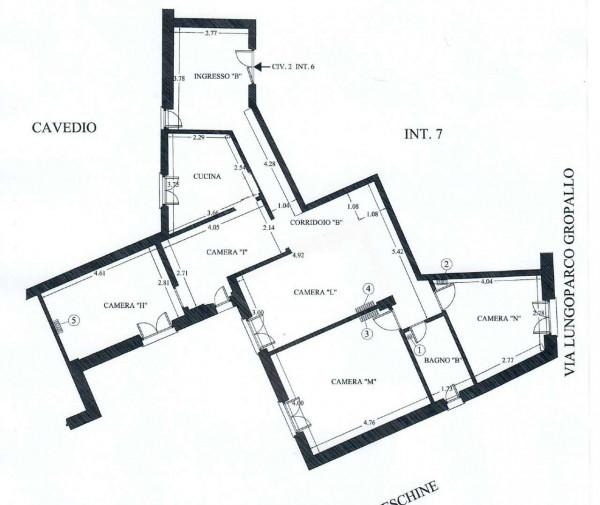Appartamento in vendita a Genova, 120 mq - Foto 2