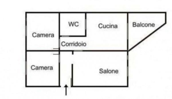 Appartamento in vendita a Cercola, Centrale, 100 mq - Foto 2