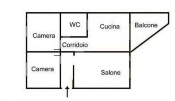 Appartamento in vendita a Cercola, Centrale, 100 mq - Foto 1
