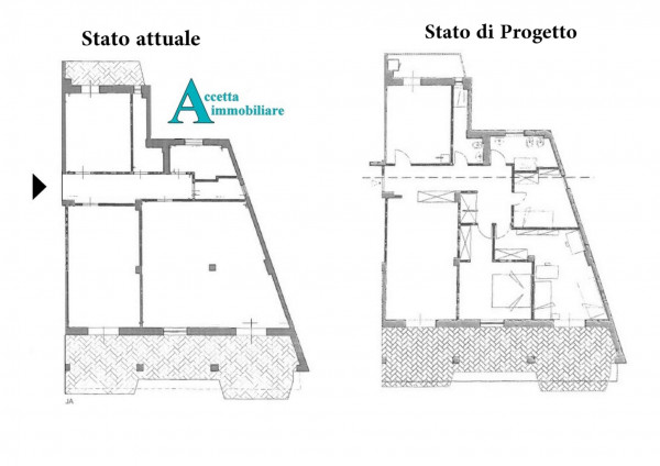 Appartamento in vendita a Taranto, Tre Carrare - Battisti, 130 mq - Foto 2