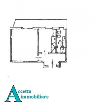 Appartamento in vendita a Taranto, Rione Italia, Montegranaro, 44 mq - Foto 2