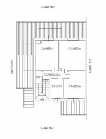 Villa in vendita a San Zenone al Lambro, Centro, Con giardino, 205 mq - Foto 4