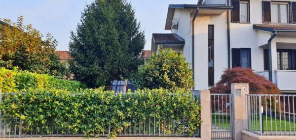 Villa in vendita a San Zenone al Lambro, Centro, Con giardino, 205 mq - Foto 7