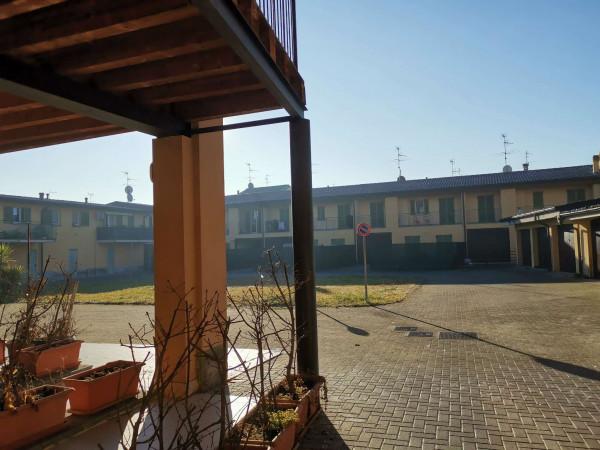 Appartamento in vendita a Trescore Cremasco, Centro, Con giardino, 90 mq - Foto 3