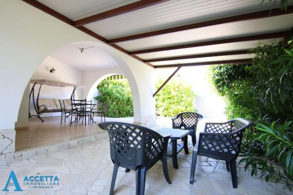 Villa in affitto a Leporano, Gandoli, Arredato, con giardino, 80 mq - Foto 13
