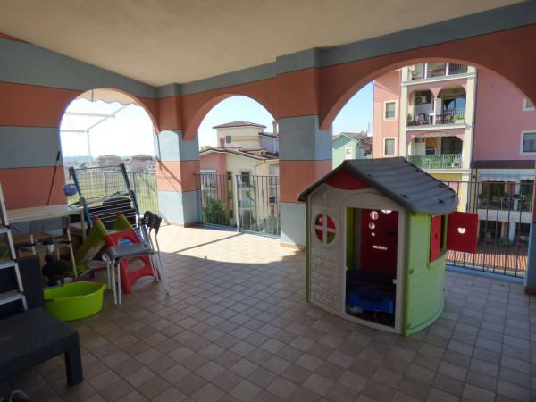 Appartamento in vendita a Leini, Betulle 2, Con giardino, 110 mq - Foto 30